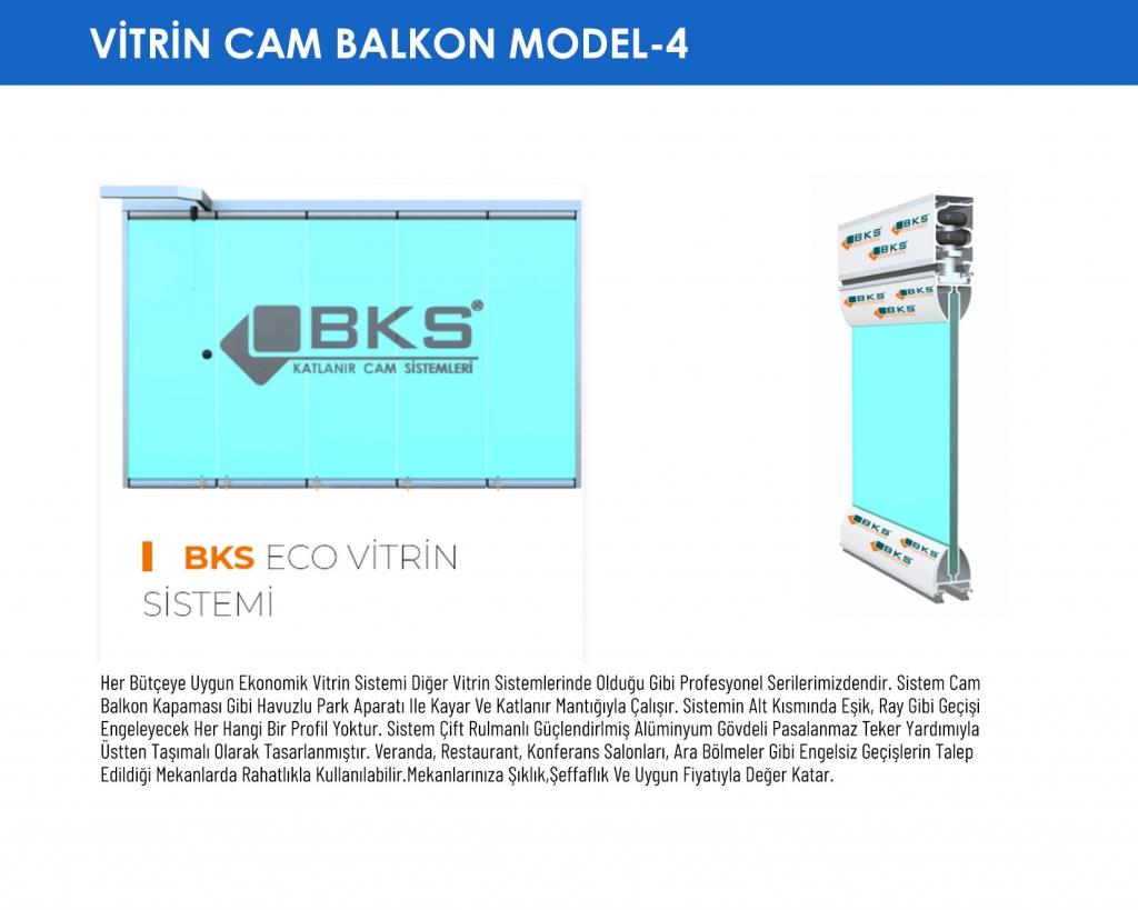 Vitrin Cam Balkon